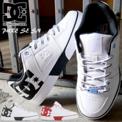 送料無料 メンズ スニーカー ローカット 人気 流行 DC SHOES SE SN DM211020 ディーシーシューズ ピュア カジュアルシューズ 靴 ストリー