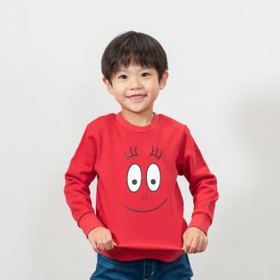フェイスプリント裏毛スウェットシャツ(バーバパパ)