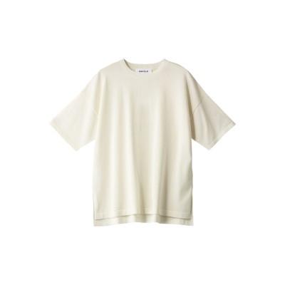 ENFOLD エンフォルド ウォッシャブルコットン ニットTシャツ レディース オフホワイト 38
