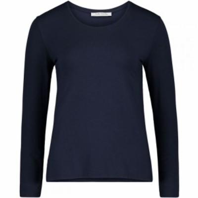 ベティー バークレイ Betty Barclay レディース Tシャツ トップス Lonh Sleeved T-Shirt Dark Sapphire