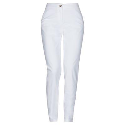 ROSSOPURO パンツ ホワイト 48 コットン 98% / ポリウレタン 2% パンツ