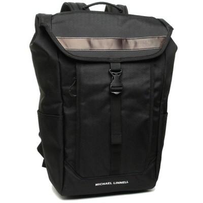 マイケルリンネル バッグパック メンズ レディース MICHAEL LINNELL ML025 ブラック A4対応