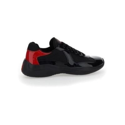 プラダ メンズ スニーカー シューズ Prada New America's Cup Sneakers -