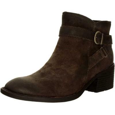 ブーツ シューズ 靴 長靴 ボーン Born レディース Binghamton レザー アンクル レザー ブーツ Grey