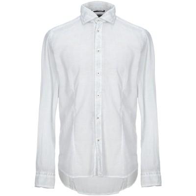 PLOUMANAC'H シャツ ライトグレー 40 コットン 100% シャツ