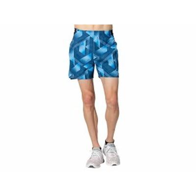 アシックス:【メンズ】ランニンググラフィックマルチポケットショーツ【asics スポーツ トレーニング パンツ】