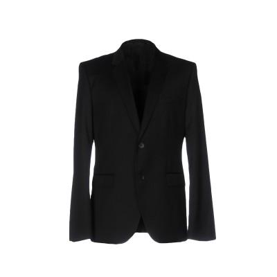 HUGO HUGO BOSS テーラードジャケット ブラック 52 バージンウール 100% テーラードジャケット