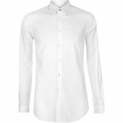 ポールスミス Paul Smith Tailoring メンズ シャツ トップス Paul Tailored Cotton Shirt White