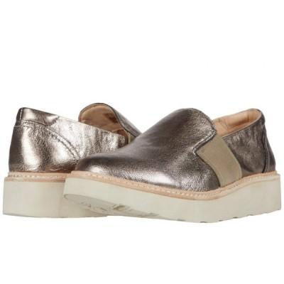 クラークス Clarks レディース ローファー・オックスフォード シューズ・靴 Trace Easy Metallic Leather
