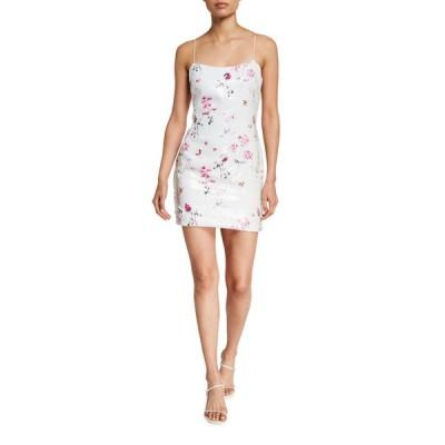 ライクリー レディース ワンピース トップス Reese Floral Sequined Cocktail Dress