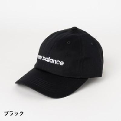 ニューバランス キャップ (JACL9749 BK) 帽子 : ブラック New Balance