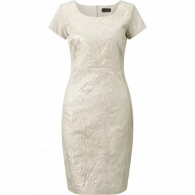 ジュームズ レイクランド James Lakeland レディース ワンピース ワンピース・ドレス Shimmer Jacquard Dress Beige
