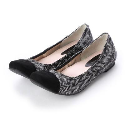 シューズラウンジ shoes lounge パンプス 7062104BLヌノ (ブラック)