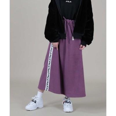スカート 【FILA】フリースボアスカート
