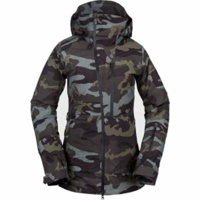 ボルコム Volcom レディース スキー・スノーボード ジャケット アウター Nya TDS Gore - Tex Jacket Service Green