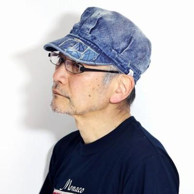 エンジニアキャップ THE FACTORY MADE デニム ヴィンテージ 春 夏 レディース ザ ファクトリー メイド 帽子 メンズ CAP 紺 ネイビー 父の日
