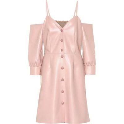 ナヌシュカ Nanushka レディース ワンピース ワンピース・ドレス shreya faux leather dress rose