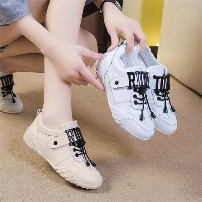 レディース スニーカー カジュアルシューズ ウォーキング 女子靴 フラットヒール 運動靴