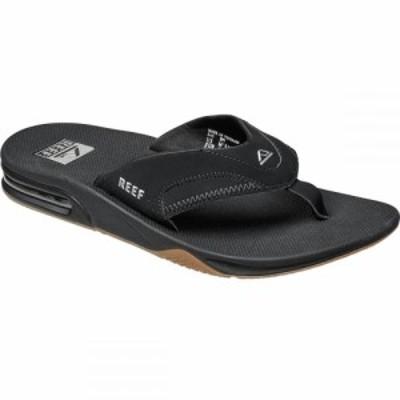 リーフ Reef メンズ ビーチサンダル シューズ・靴 Fanning Flip Flop Black/Silver