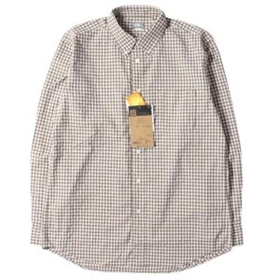 THE NORTH FACE ザ ノースフェイス シャツ 20SS ギンガムチェク ヒデンバリー シャツ 長袖 L/S Hidden Valley Shirt ブラウン ギンガム (