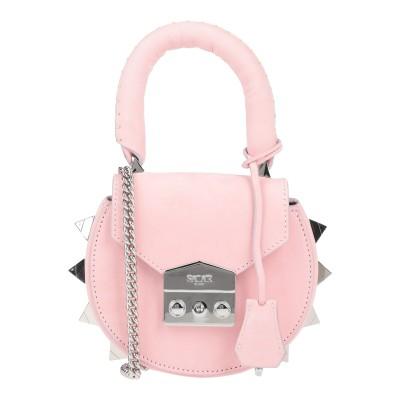 SALAR ハンドバッグ ピンク 牛革(カーフ) 100% ハンドバッグ