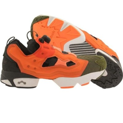 リーボック メンズ シューズ  Reebok Men Instapump Fury ASYM (canopy green / peach / atomic red / coal)