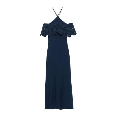 BAILEY 44 ロングワンピース&ドレス ブライトブルー XS コットン 100% / レーヨン / ポリウレタン ロングワンピース&ドレス
