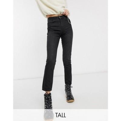 オンリー Only Tall レディース ジーンズ・デニム ボトムス・パンツ mom jean in black ブラック
