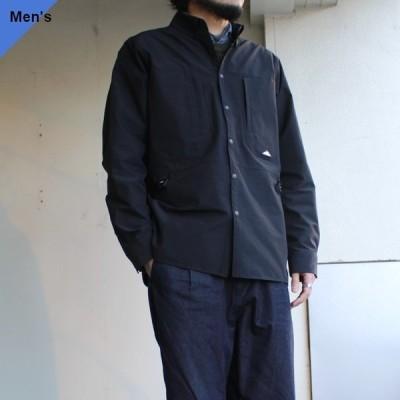 Mountain Smith STリサイクルナイロンBDシャツジャケット ブラック