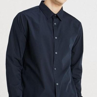 ニュールック メンズ シャツ POPLIN - Shirt - navy