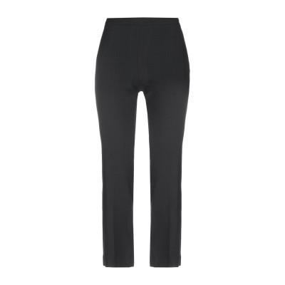 MARIA GRAZIA SEVERI パンツ ブラック 42 レーヨン 99% / ポリウレタン 1% パンツ