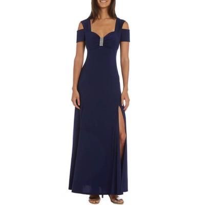 アールアンドエムリチャーズ レディース ワンピース トップス Women's Long Cold Shoulder Dress
