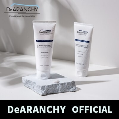 [DeARANCHY 公式 ] モイスチャービタークレンジングフォーム/ Moisture Vita Cleansing Foam/ 韓国コスメ
