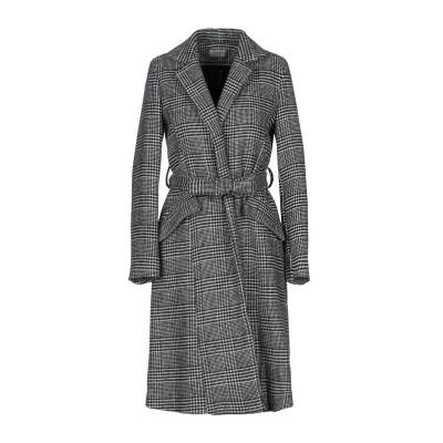 TWENTY EASY by KAOS コート ブラック 46 アクリル 50% / ポリエステル 25% / ウール 20% / 指定外繊維 5%