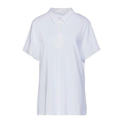 GAIA LIFE ポロシャツ ホワイト 52 コットン 94% / ポリウレタン 6% ポロシャツ