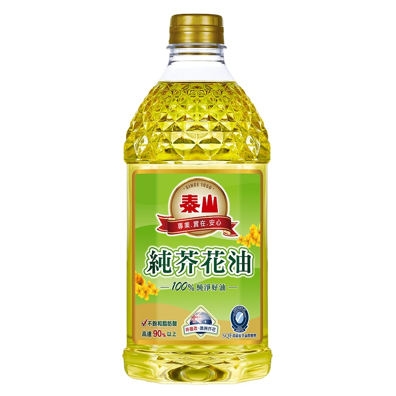 泰山健康好理由純芥花油 2L