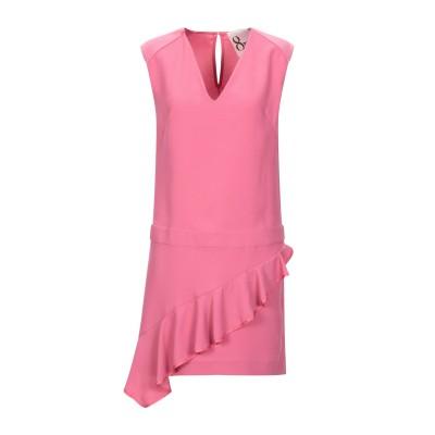 8PM ミニワンピース&ドレス フューシャ S ポリエステル 100% ミニワンピース&ドレス