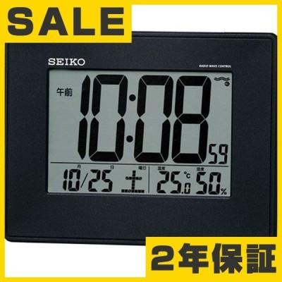 掛け時計 セイコー デジタル 電波掛時計 電波時計 SEIKO 掛け時計 掛置兼用 電波時計 SQ770K