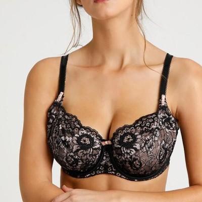 レディース ファッション OPULENCE UNDERWIRED BRA - Underwired bra - black/pink