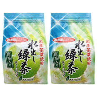 大井川茶園大井川茶園 徳用抹茶入り水出し緑茶 1セット(100バッグ:50バッグ入×2袋)