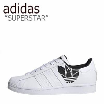アディダス スーパースター スニーカー adidas SUPERSTAR スーパー スター WHITE ホワイト BLACK ブラック FY2824 FLADBA3U34 シューズ
