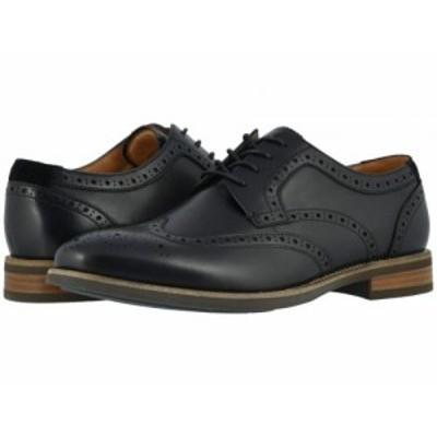 Florsheim フローシャイム メンズ 男性用 シューズ 靴 オックスフォード 紳士靴 通勤靴 Uptown Wing Tip Oxford Black【送料無料】