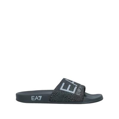 EA7 サンダル 鉛色 42 紡績繊維 サンダル