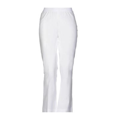 ツインセット シモーナ バルビエリ TWINSET パンツ ホワイト 38 コットン 97% / ポリウレタン 3% パンツ