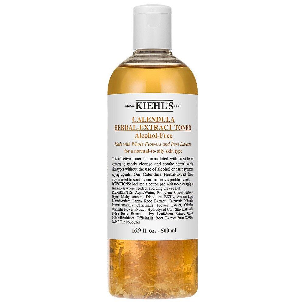KIEHL'S 契爾氏 金盞花植物精華化妝水 250ML(一般版)/500ML(限量加大、國際航空版) Kiehl's Calendula Herbal Extract Toner 2款任選 日韓小潼