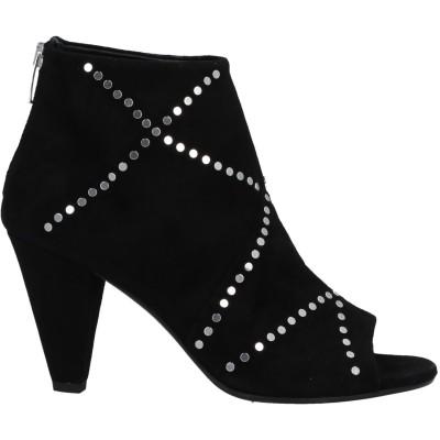 ジャネット&ジャネット JANET & JANET ショートブーツ ブラック 35.5 革 ショートブーツ