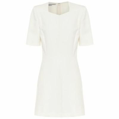 ステラ マッカートニー Stella McCartney レディース ワンピース ワンピース・ドレス Mercato wool-blend minidress Winter White