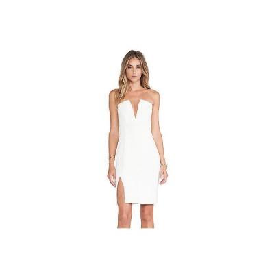 レディース ドレス・ワンピース  NBD レディース Unravel アイボリー ホワイト Midi ドレス サイズ-M