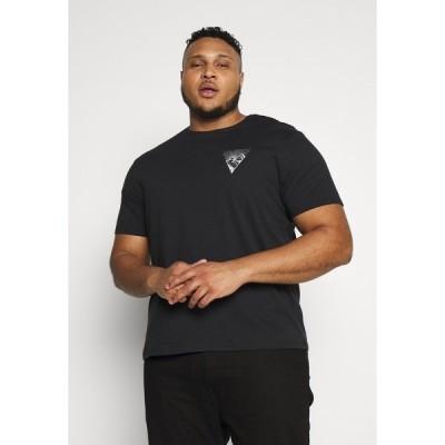 ピアワン Tシャツ メンズ トップス Print T-shirt - black