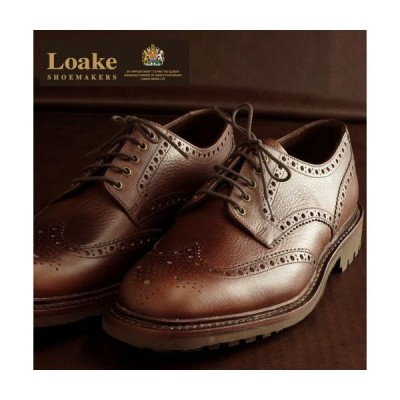 Loake England ローク 革靴 メンズ ブローグダービー ブーツ G 4E WHARFDALE ギフト